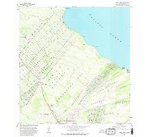 USGS TOPO Map Hawaii HI Pahoa North 349641 1981 24000 Photographic Print