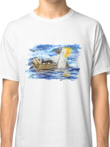 A Fluffy Bird Lost at Sea Classic T-Shirt