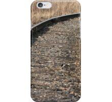 Railway turn autumn iPhone Case/Skin