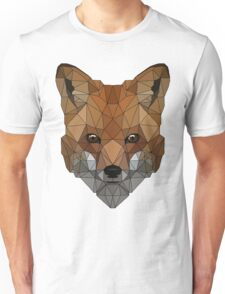 Geometric Fox Unisex T-Shirt