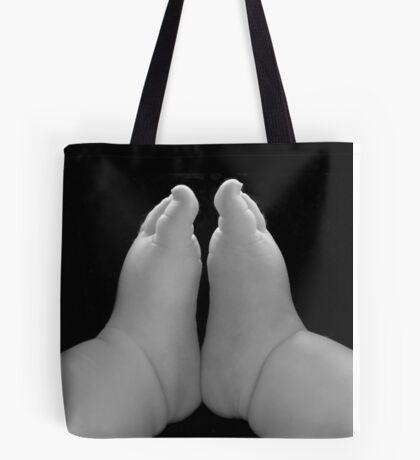 Small feet ready to conquer the world Tote Bag