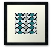 Balancing the scales Framed Print