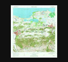 USGS TOPO Map Puerto Rico PR Manati 362147 1969 20000 Unisex T-Shirt