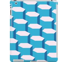 Blue Tesselation iPad Case/Skin