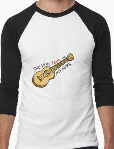 Ukulele-TIMH Men's Baseball ¾ T-Shirt