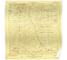 USGS TOPO Map Hawaii HI Humuula 349844 1930 62500 Poster