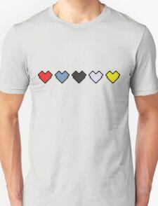The Binding of Isaac, hearts T-Shirt