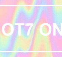 """I GOT7 Only"" GOT7 Fanclub Design Sticker"