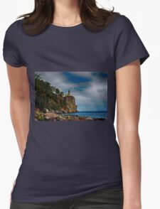 Silver Bay 2 Womens Fitted T-Shirt