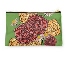 Fun Floral Pattern Studio Pouch