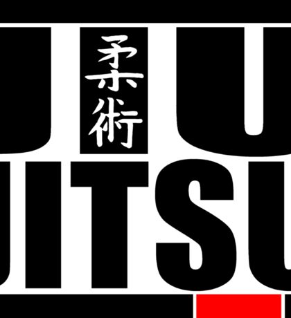 Jiu jitsu basic Sticker