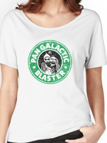 Pan Galactic (Gargle) Blaster - Coffee Women's Relaxed Fit T-Shirt
