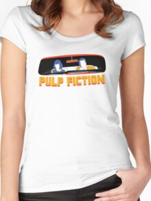 Pulp Fiction: Mia and Vincent Women's Fitted Scoop T-Shirt