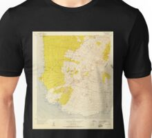 USGS TOPO Map Hawaii HI Makena 349563 1954 24000 Unisex T-Shirt