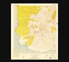 USGS TOPO Map Hawaii HI Makena 349563 1954 24000 Unisex T-Shirt
