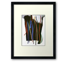 Tendrils and thorns Framed Print