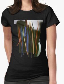Tendrils and thorns Womens Fitted T-Shirt