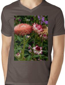 Color Therapy With Nature Mens V-Neck T-Shirt