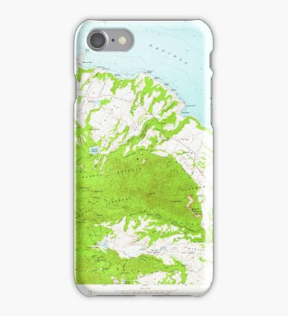 USGS TOPO Map Hawaii HI Anahola 349215 1963 24000 iPhone Case/Skin