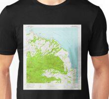 USGS TOPO Map Hawaii HI Anahola 349215 1963 24000 Unisex T-Shirt
