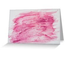 Dark red abstract water color textured background  Greeting Card
