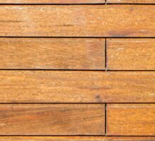 Wood old wall background Sticker