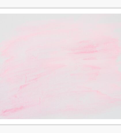 Light Pink abstract water color background  Sticker