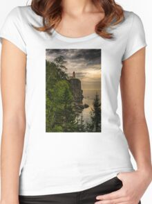 Silver Bay 7 Women's Fitted Scoop T-Shirt