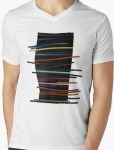 Ribbon Float Mens V-Neck T-Shirt