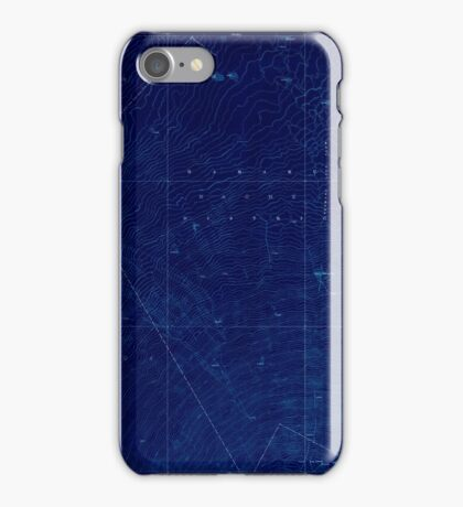USGS TOPO Map Hawaii HI Kaohe 349865 1930 62500 Inverted iPhone Case/Skin