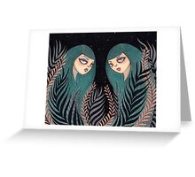 The Twins Greeting Card