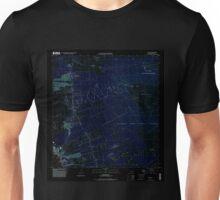 USGS TOPO Map Hawaii HI Kailua 349349 1996 24000 Inverted Unisex T-Shirt