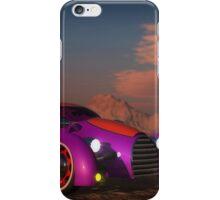Grobo Car in a Desert Setting iPhone Case/Skin