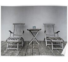 Lounge Chairs Poster