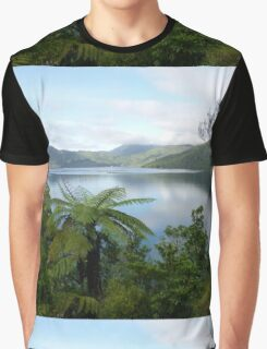 Marlborough Sounds, New Zealand Graphic T-Shirt