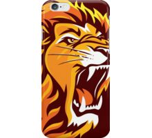 Lion Roaring (Chocolates) iPhone Case/Skin