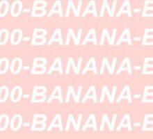 1-800-BANANA-BUS Sticker