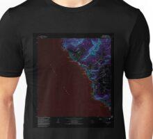 USGS TOPO Map Hawaii HI Waianae 349777 1983 24000 Inverted Unisex T-Shirt