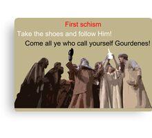 First schism Canvas Print