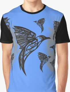 Blue Bird Graphic T-Shirt
