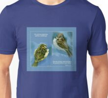 Two Sparrows Unisex T-Shirt