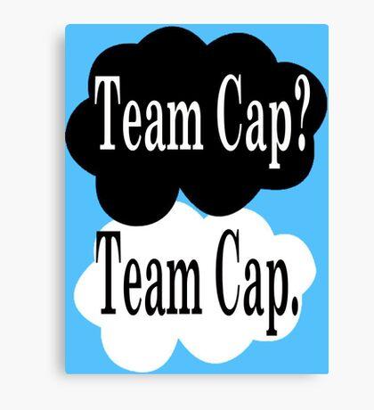 Team Cap? Team Cap Canvas Print