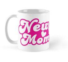 New mom with cute heart Mug