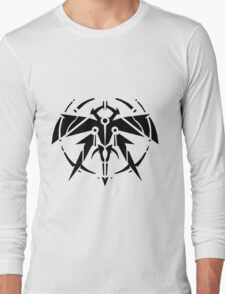 Rank-Up-Magic Raid force Black Edition Long Sleeve T-Shirt