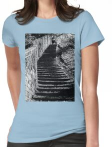 Up to the top Womens Fitted T-Shirt