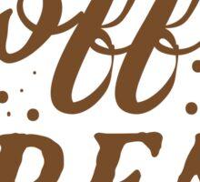 Coffee BREAK Sticker