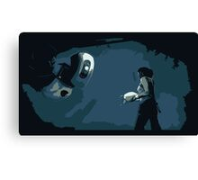 Portal 2 - We Meet Again Canvas Print