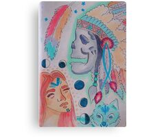 Ancestral Spirit Canvas Print