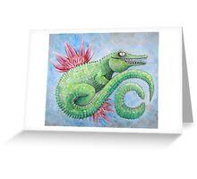 C is for crocodile  Greeting Card