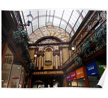 Central Arcade, Newcastle-upon-Tyne Poster